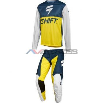 Completo Shift Whit3 Label Navy-Yellow