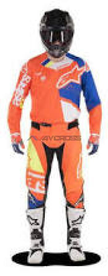 Completo Alpinestar Techstar Factory Orange