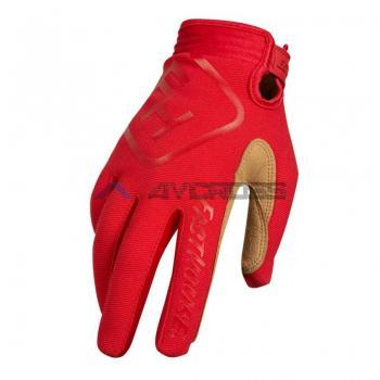 FH Speed Style Solid Glove Red