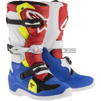 Stivali Alpinestar Youth Tech 7s blue white red