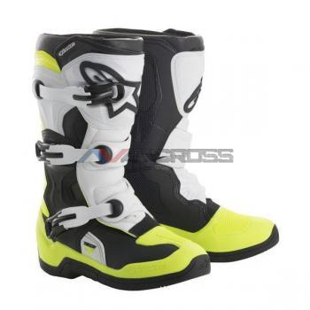 Stivali Tech 3 s Youth black-yellow fluo