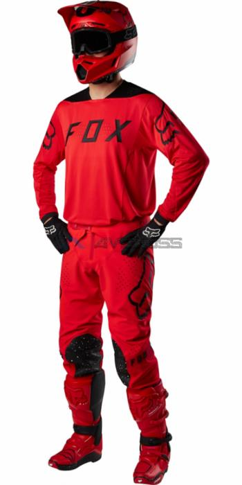 completo fox flexair moth red-black