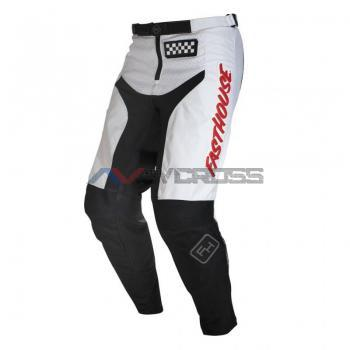 Grindhouse Pantalone White-Red