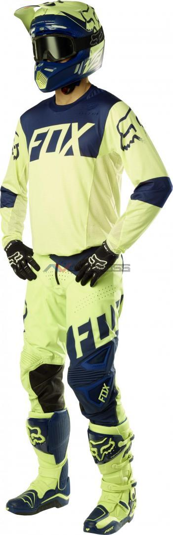 Completo Fox Flexair Libra Le Navy-Yellow