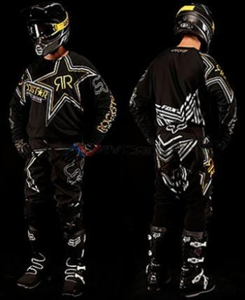 Completo Fox 360 Rockstar Matte Black