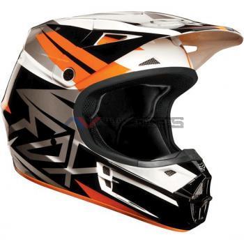 Casco Fox V1 Costa Orange