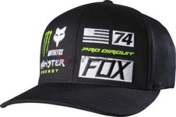 Cappellino Monster Union Flaxfit Black