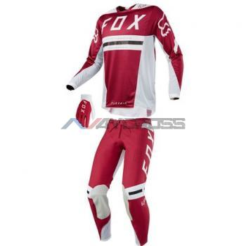 Completo Fox Flexair Preest Dark Red