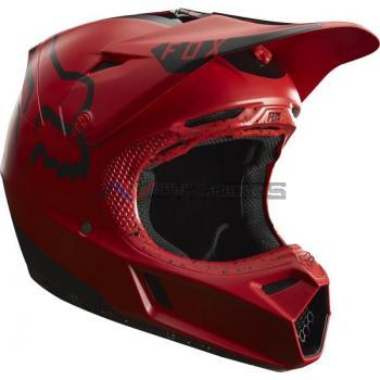 Casco Fox V3 Moth LE Red-Black