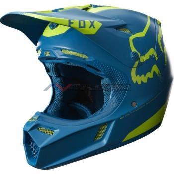 Casco Fox V3 Moth LE Teal