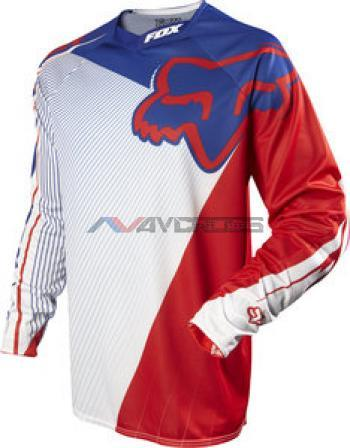 Maglia Fox 360 MXON Flight Patriot Red
