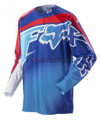 Maglia Fox 360 Flight Blue-Red