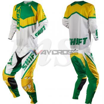 Completo Shift Faction MXON LE Yellow-Green