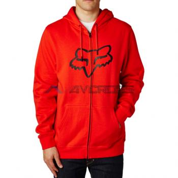 Felpa Legacy Foxhead Zip Fleece Flame Red