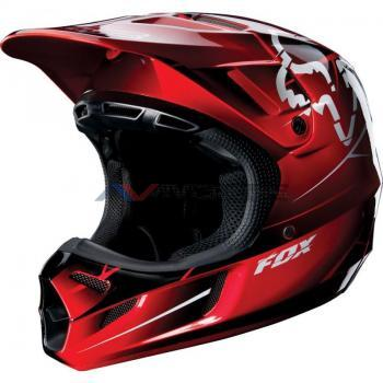 Casco Fox V4 Future Red