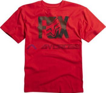 Boys Lurching SS Tee Red