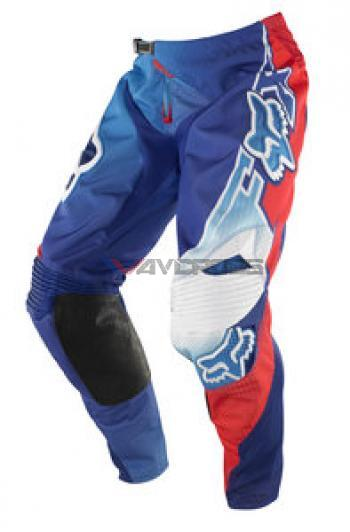 Pantaloni Fox 360 Flight Blue-Red