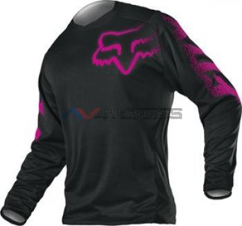 Maglia Fox Women Blackout Black-Pink