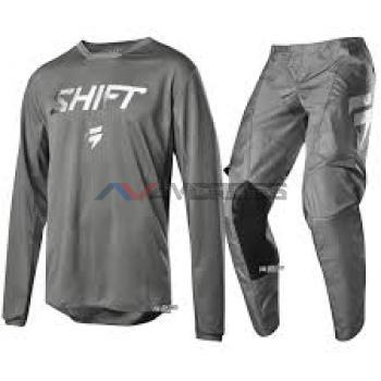 Completo Shift Youth 2019 Whit3 Ghost  LE Grey