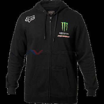 Felpa Fox Monster Pc Zip Black