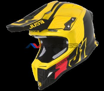 Casco Just1 J12 Syncro Carbon-Yellow